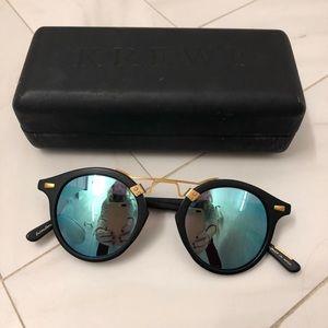 Krewe St. Louis Sunglasses. As seen on Gigi Hadid